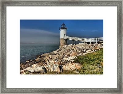 Across The Seas Framed Print by Adam Jewell