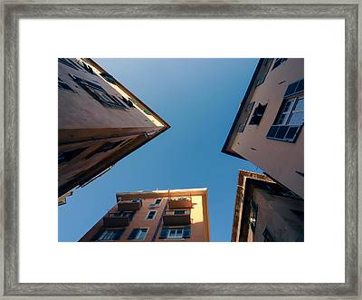 Across The Street.. Framed Print by A Rey