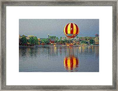 Across The Water Framed Print by Jenny Hudson