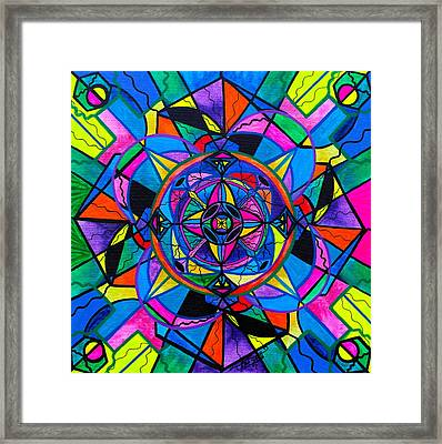 Activating Potential  Framed Print by Teal Eye  Print Store