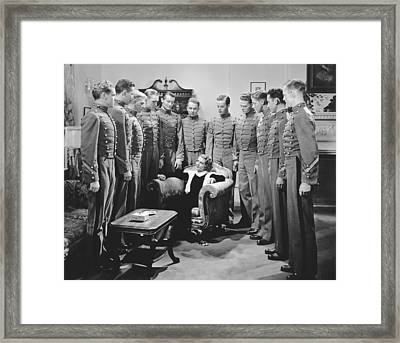 Actress Ruby Keeler Framed Print by Underwood Archives