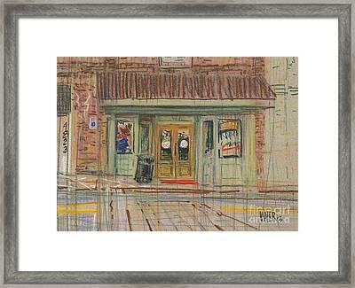 Acworth Shop Framed Print by Donald Maier
