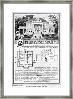 Ad: Sears Home, 1918 Framed Print by Granger