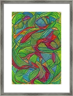 Adapt Or Perish Framed Print by Kelly K H B