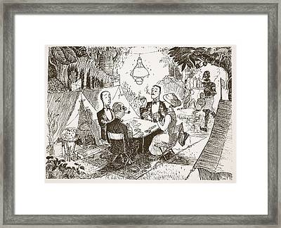 Adaptability To Foreign Conditions Framed Print by Pont