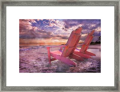 Adirondack Duo Framed Print by Betsy C Knapp