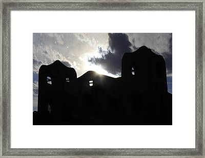 Adobe In The Sun Framed Print by Mike McGlothlen