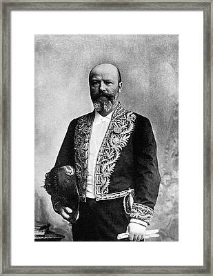 Adolphe Pinard Framed Print by National Library Of Medicine