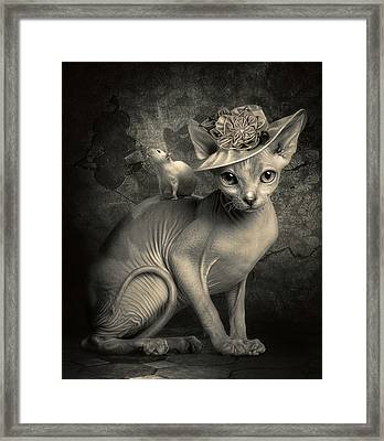 Adopted Framed Print by Cindy Grundsten