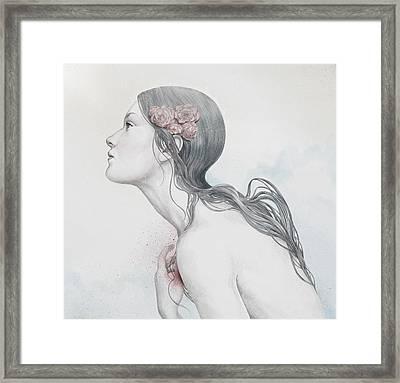 Adoration Framed Print by Diego Fernandez
