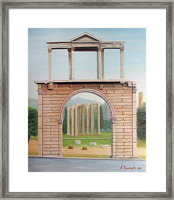 Adrian's Gate Framed Print by Anastassios Mitropoulos