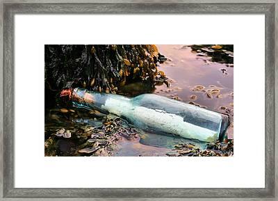 Adrift  Framed Print by JC Findley