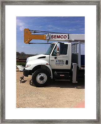 Advanced Semco Framed Print by Shawn Marlow