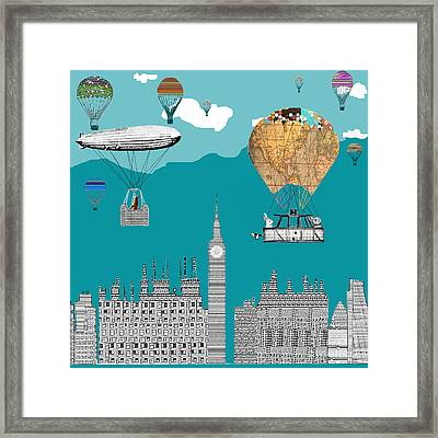 Adventure Days London Framed Print by Bri B