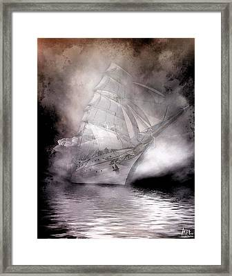 Adventure Of Sailing Framed Print by Harald Fischer