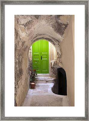 Aegean Colors Framed Print by Manolis Tsantakis