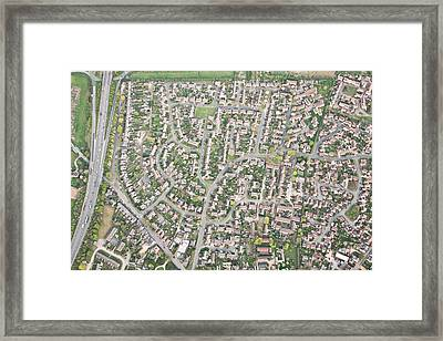 Aerial View  Framed Print by Tom Gowanlock