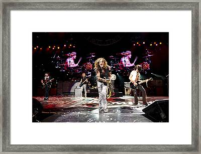 Aerosmith - Austin Texas 2012 Framed Print by Epic Rights