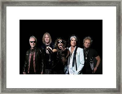 Aerosmith - Global Warming Tour 2012 Framed Print by Epic Rights