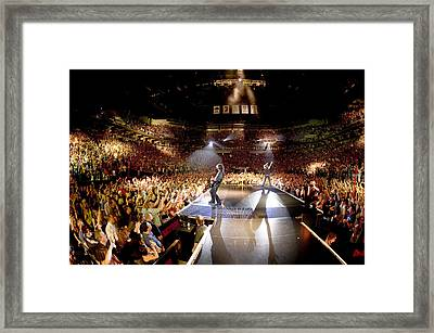 Aerosmith - Minneapolis 2012 Framed Print by Epic Rights