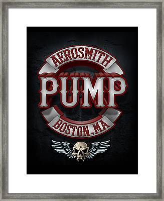 Aerosmith - Pump Framed Print by Epic Rights