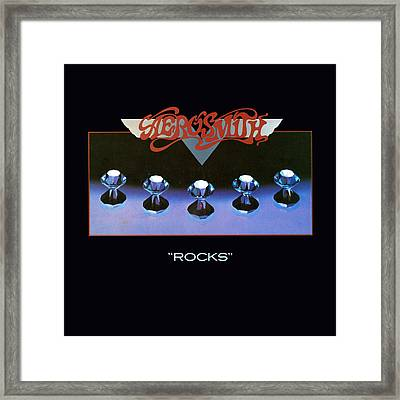 Aerosmith - Rocks 1976 Framed Print by Epic Rights