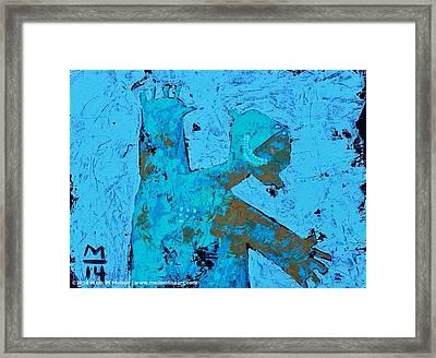 Aetas No. 13 Framed Print by Mark M  Mellon