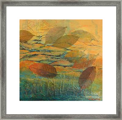 Afloat 1 Framed Print by Melody Cleary