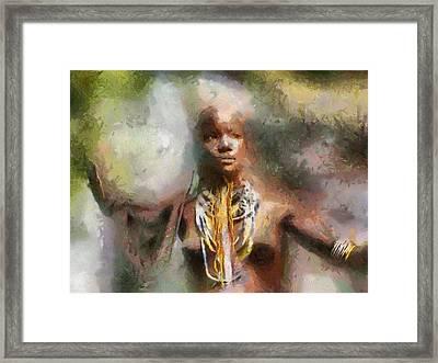Africa Freedom Framed Print by Georgi Dimitrov