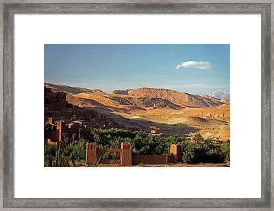 Africa, Morocco, Ouarzazate Framed Print by Kymri Wilt