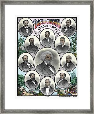 African Americans, C1883 Framed Print by Granger