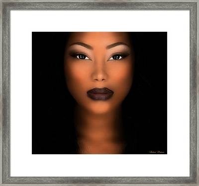 African Woman Framed Print by Robert Matson