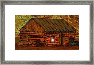 After A Hard Days Work Framed Print by David Lee Thompson