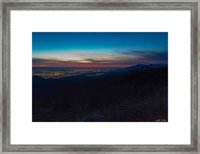 After Dark Framed Print by Heidi Smith