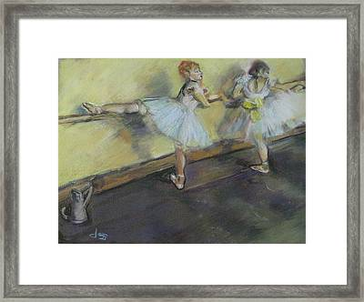 After Degas 2 Framed Print by Dorothy Siclare