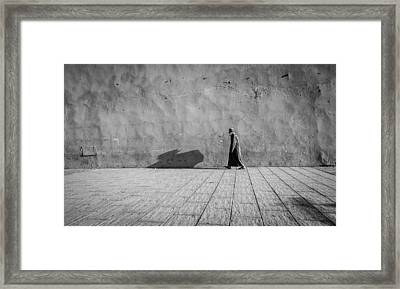 After Evening Prayers Framed Print by Michael Avory