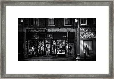 After Hours  Framed Print by Bob Orsillo