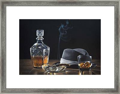 After Hours II Framed Print by Lianne Anderson