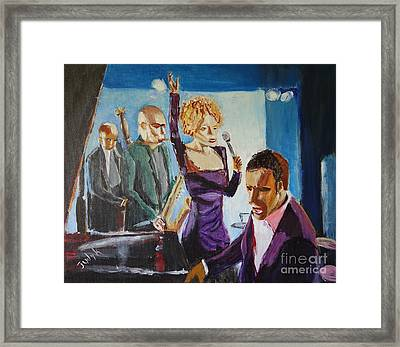 After Hours Framed Print by Judy Kay
