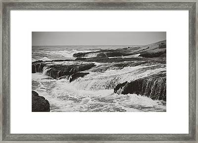 After The Crash Framed Print by Laurie Search