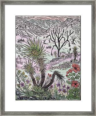 After The Fire New Spring Framed Print by Maria Arango Diener