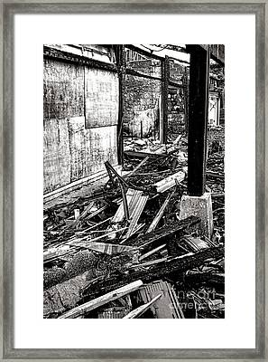 After The Fire Framed Print by Olivier Le Queinec