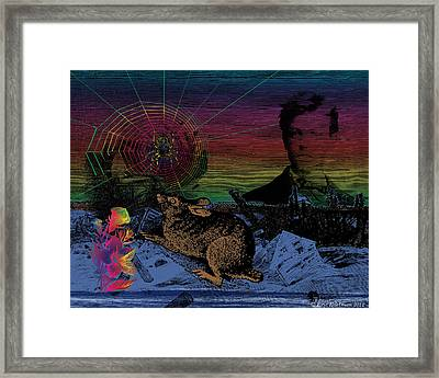 After The Flood Framed Print by Eric Edelman