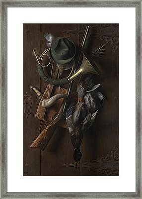 After The Hunt Framed Print by William Michael Harnett