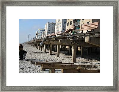 After The Hurrican Framed Print by Dennis Curry