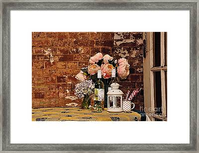 After The Party Framed Print by Kaye Menner