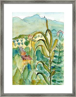 After The Rain Framed Print by Anita Bell