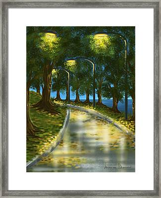 After The Rain Framed Print by Veronica Minozzi