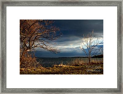 After The Storm  Framed Print by A New Focus Photography