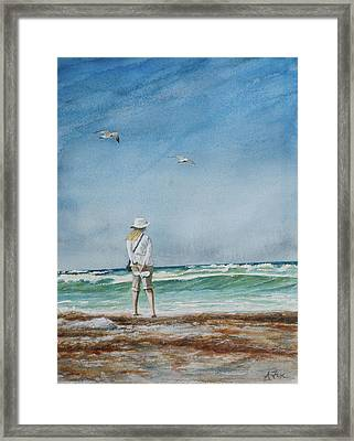 After The Storm Framed Print by Arthur Fix